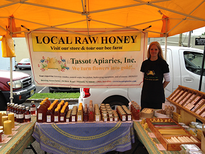 Tassot Apiaries at the Scotch Plains Farmers Market