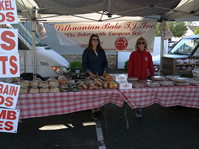 Backiel's Lithuanian Bakery at the Scotch Plains Farmers' Market